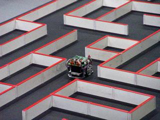 micromouse maze - All Japan Micromouse 2004