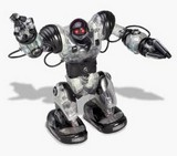 See-thru Robosapien from eToys