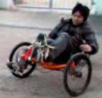 Trike spinout