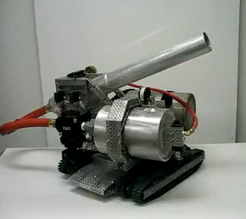 Vex air canon robot