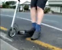 Xootr curb move